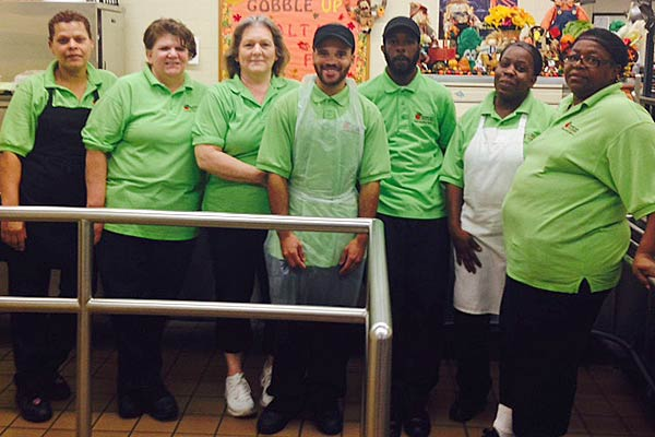 McIntosh Cafeteria Team