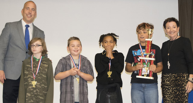 Greenwood Elementary School's design earned them first place in the challenge