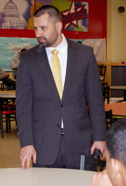 Denbigh High School Principal Tony Vladu