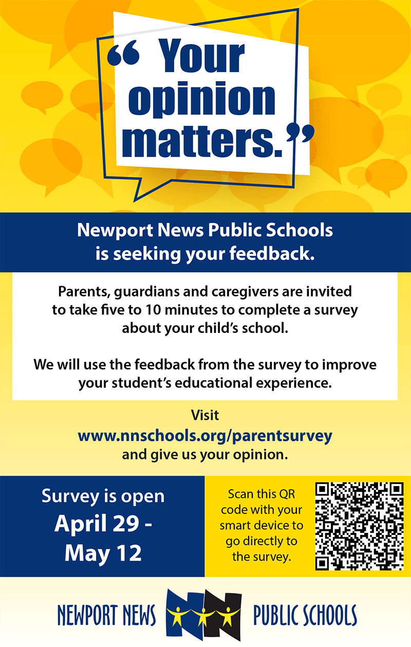 Please take our Parent Survey by May 12