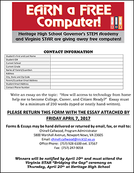 Download the registration form and essay guidelines.